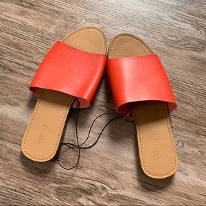 NWOT Orange Slides